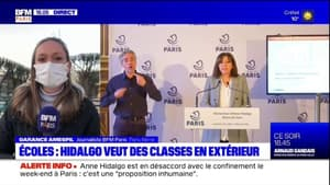 Écoles: les parents d'élèves sont mitigés sur la proposition d'Anne Hidalgo de faire classe en extérieur