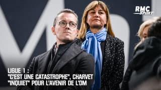 """Ligue 1 : """"C'est une catastrophe"""", Charvet """"inquiet"""" pour l'avenir de l'OM"""