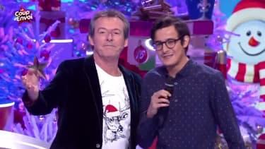 """Jean-Luc Reichmann et Paul dans """"Les 12 Coups de Midi"""""""