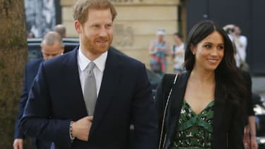 Le prince Harry et Meghan Markle