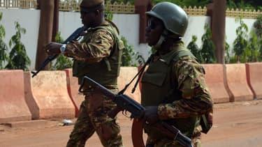 Des soldats maliens (photo d'illustration)