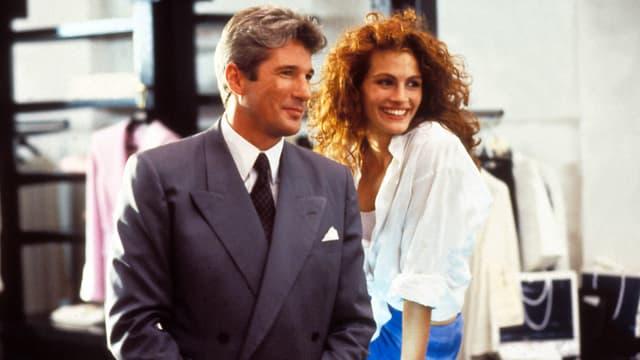 """Richard Gere et Julia Roberts dans le film """"Pretty Woman"""""""