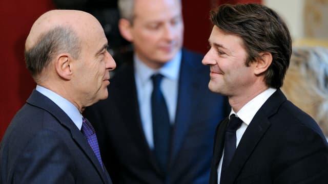 Alain Juppé semble bien placer pour faire figure de plan B après François Fillon, mais ça n'est pas du goût de François Baroin.