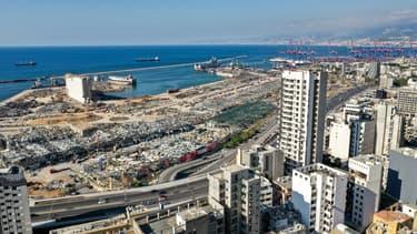 Le port de Beyrouth, le 21 août.
