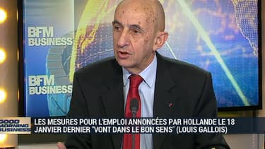 Louis Gallois était l'invité de BFM Business mercredi 3 février.