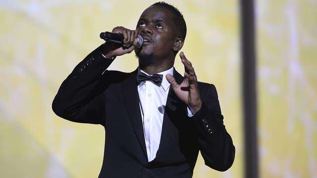Black M sur scène le 13 février 2015