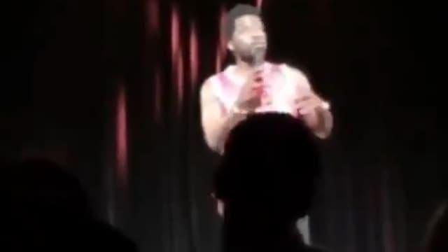 Donel Jack'sman dans la vidéo de l'insulte raciste