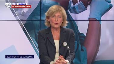 """Pr Brigitte Autran: """"Les essais cliniques montrent qu'il n'y a pas d'effets indésirables graves"""" à la vaccination au Covid-19"""