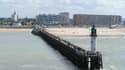 Vue de Calais, qui ne devrait pas être épargnée par la montée des eaux.