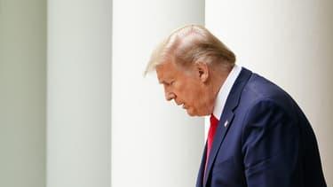 Donald Trump le 29 mai 2020.