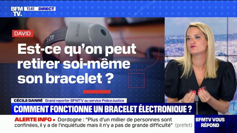 Comment fonctionne un bracelet électronique ? - BFMTV répond à vos questions
