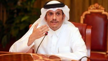 Le ministre des Affaires étrangères du Qatar, Mohammed bin Abdulrahman al-Thani.