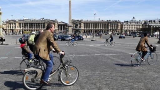 Parmi les 25 mesures  pour booster l'usage du vélo, le gouvernement veut instaurer une indémnité kilométrique.