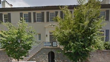 La future résidence d'Ivanka Trump, dans le quartier de Kalorama, à Washington.