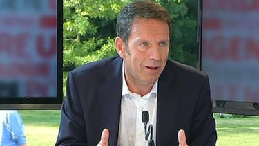 Geoffroy Roux de Bezieux, le vice-président du Medef, était l'invité de BFM Business, en marge de l'université d'été de l'organisation patronale.