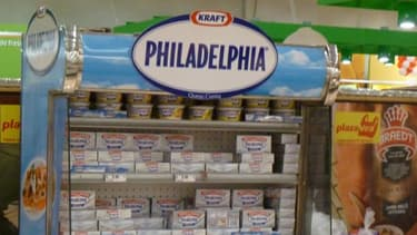 La marque de fromage à tartiner Philadelphia part à la conquête de la France.