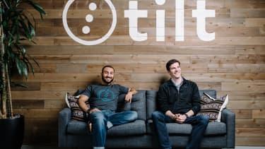 Tilt a été créé par James Beshara et Khaled Hussein en février 2012.