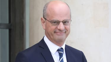 Le ministre de l'Education nationale Jean-Michel Blanquer à l'Elysée, le 2 octobre 2019