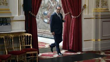 François Hollande à l'Elysée en septembre 2014.
