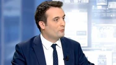 """Après la démission de Christiane Taubira, le vice-président du FN s'est réjoui de cette """"bonne nouvelle""""."""