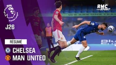 Résumé : Chelsea 0-0 Manchester United - Premier League (J26)