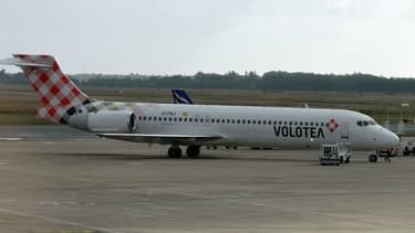 Un avion de la compagnie Volotea. Photo d'illustration