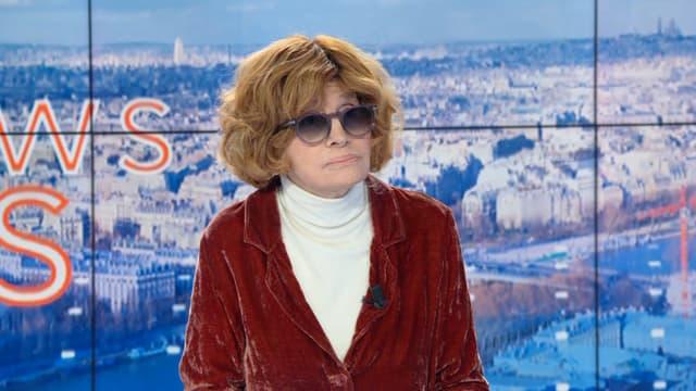 Nadine Trintignant sur BFMTV, le 13 novembre 2019.