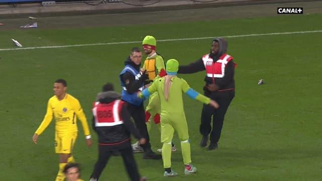 Rennes-PSG : des Tortues Ninja sur le terrain