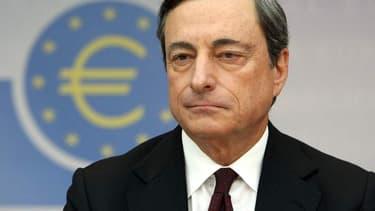"""Le discours de Mario Draghi avait pour thème """"le chômage en zone euro"""""""