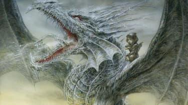 La couverture de Dragon de glace de George R.R. Martin