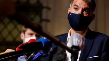 Olivier Faure le 22 septembre 2020 à Paris