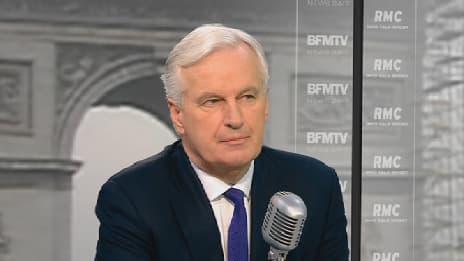 Michel Barnier était l'invité de BFMTV et RMC vendredi.