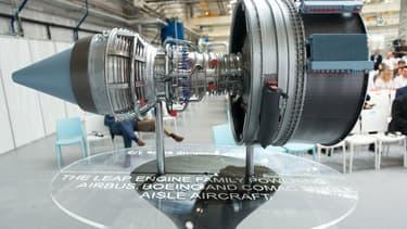 Le moteur Leap produit par Safran et General Electric
