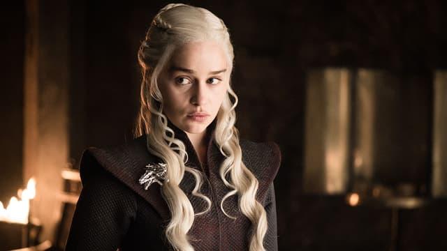 Emilia Clarke dans Game of Thrones