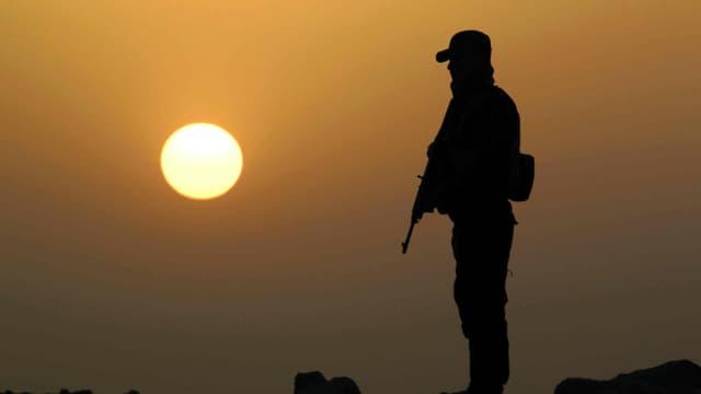 Un soldat de la force gouvernementale irakienne, le 26 mai 2015