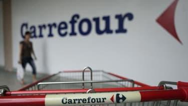 Carrefour, comme ses concurrents, doit faire face à une érosion du chiffre d'affaires de ses rayons non-alimentaires.