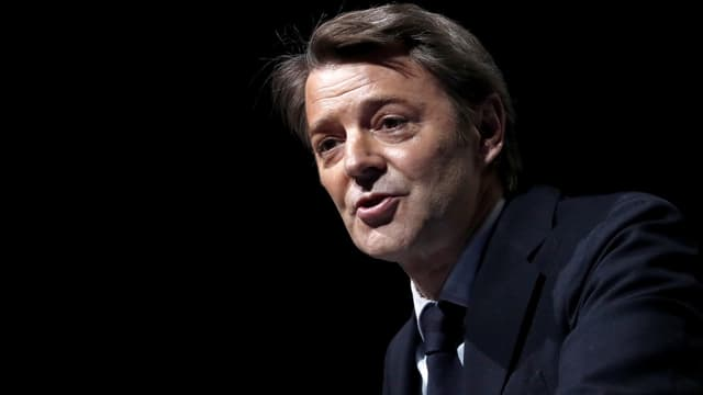 François Baroin lors du 102e congrès des maires, le 19 novembre 2019