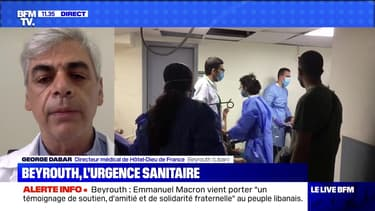 Beyrouth, l'urgence sanitaire - 06/08
