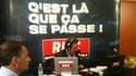 Jean-Jacques Bourdin à Avignon avec Eric Besson