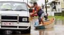A Rockhampton, dans le Queensland. Le délai de reconstruction des infrastructures touchées par les inondations en Australie se comptera en mois, voire en années, selon le responsable des opérations de secours dans le Queensland, le principal Etat touché d