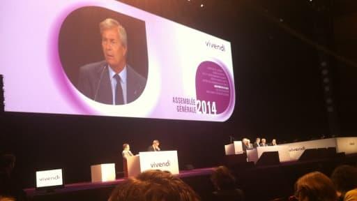 Le nouveau patron de Vivendi avait esquissé sa stratégie lors de l'assemblée générale du 24 juin