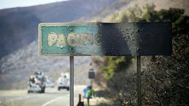 Panneau calciné en Californie