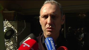 Guy Muffat, le père de Camille, la championne de natation tuée lors du crash d'hélicoptère, lundi en Argentine.
