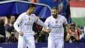 Cristiano Ronaldo et Karim Benzema (Real Madrid)
