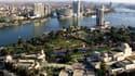 La ville du Caire en Égypte