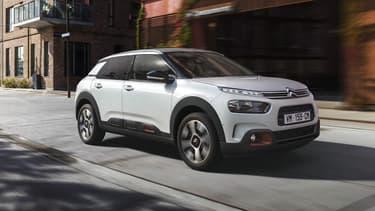 Citroën a dévoilé à Paris ce jeudi la nouvelle version du C4 Cactus.
