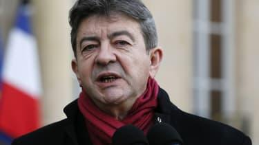 """Jean-Luc Mélenchon estime que l'Allemagne est """"de nouveau un danger"""" pour l'Europe."""