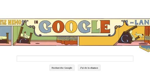 Google Doodle rend hommage à Little Nemo