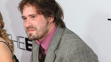 """David Moreau à Hollywood en janvier 2008 pour la première du film américain """"The Eye"""", qu'il a co-réalisé"""