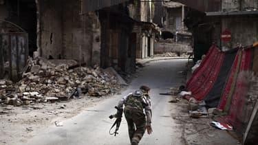Le Hezbollah libanais a attaqué une patrouille de l'armée israélienne à la frontière entre les deux pays - Lundi 4 janvier 2016 - Photo d'illustration d'un combattant du Hezbollah